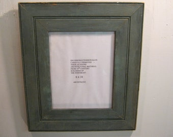 SHABBY ARCHITECTURAL Chic Salvaged Recycled Wood Photo Picture Frame 8x10 S 591-12