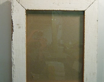 Shabby Wood Picture Frame 11x14 Shabby Recycled chic S-630-12