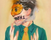 "Descending - Fine Art Print by Jonny Ruzzo - 13"" x 17"""