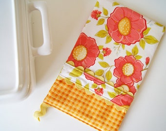 Oven Mitt - Hot Pad Daydream Floral and Gingham