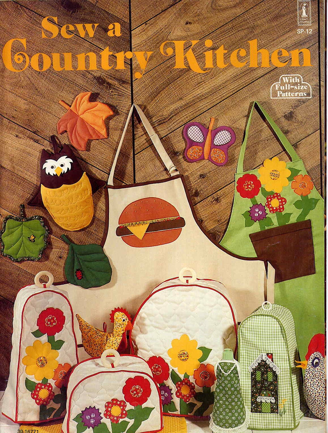 Country Kitchen Wallpaper Patterns Sew A Country Kitchen Retro Kitchen Decor Sewing