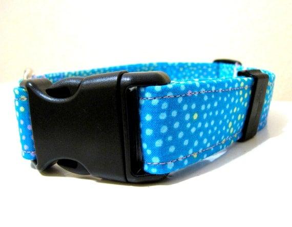 Rainbow Sherbet Dog Collar - Size M