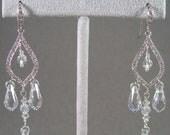 Reserved for Janet- Elisha custom clip earrings