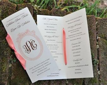 100 Vintage Classic Wedding Programs