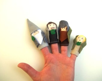 Finger Puppet Set Lord of the Rings