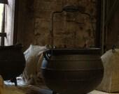 Vintage Cast Iron Cauldron