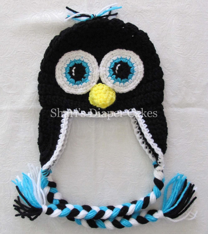 Penguin Crochet Hat Baby Hat
