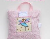 Girl Tooth Fairy Pillow Pink - Anastasia the Tooth Fairy Ballerina