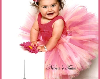Cranberry Rose,Tutu,Birthday,Party,Photo Shoots,Gift in Sizes up to 3yrs