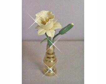 Daffodil  Lamp Finial Custom Color