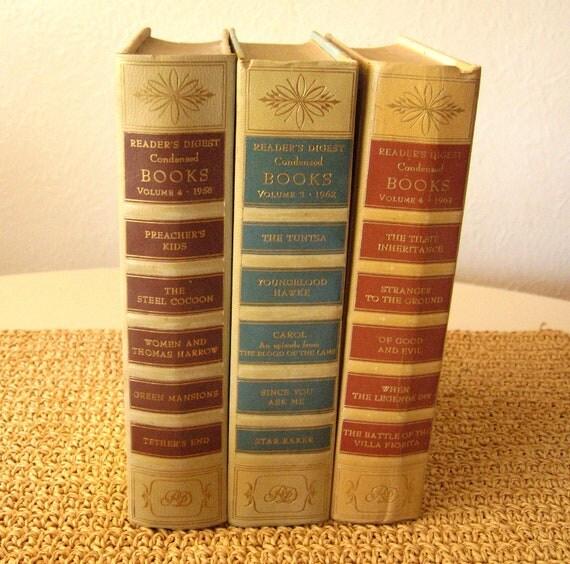 Reader's Digest Book Set of 3
