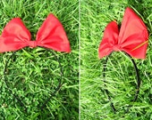 Red Hair band bow for Kiki's delivery service cosplay