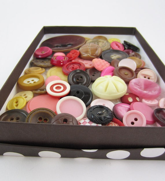 buttons - 50s Shades