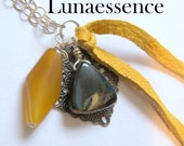 Pendant Venus Rising Tiger Eye Filigree Christmas In July ONSALE Clearance