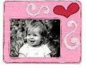 Sizzix Bigz Frame- Heart & Swirls die number 655684