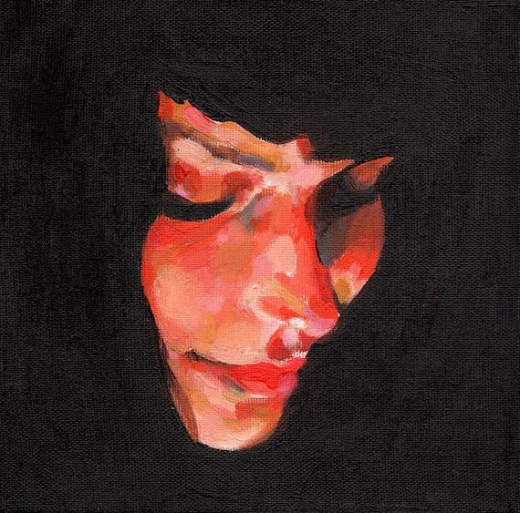 Jenny / Original acrylic painting on canvas