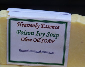 Poison  Ivy soap to stop and help heal