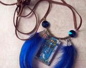 The High Priestess - Tarot Necklace