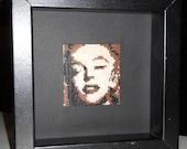 Marilyn Monroe Beaded Wall Decor