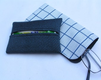 Eyeglass Case with matching Tissue Holder