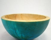Shining Blue - Box Elder Bowl(reserved for tigerlilyf20)
