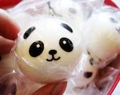 Squishy Panda Boy  Supply Phone Strap. Kawaii. Squishies.