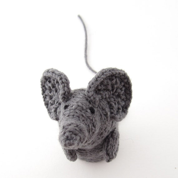 Knitted Rat Halloween Decoration
