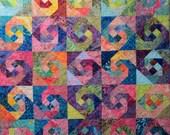Swing a Partner Art Quilt