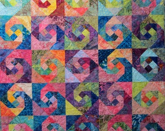 Swing a Partner Art Quilt