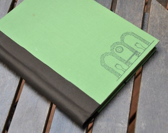 Upcycled Gardening/Landscaping Blank Book