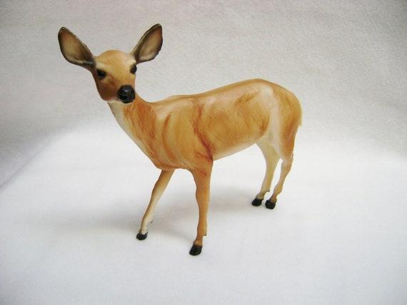 ON SALE Vintage Breyer Doe Deer-Woodland Rustic Decor