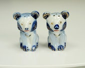 Vintage Salt & Pepper Shakers...Asian Bears