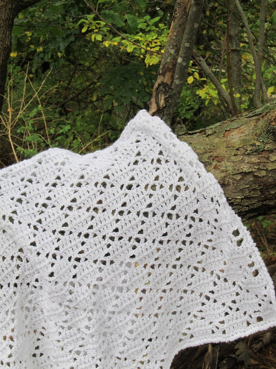 easy crochet pattern lace afghan in 4 sizes by anastaciaknits