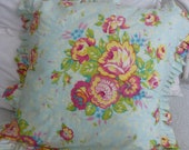 Custom Made Pillow Shams with Ruffles   Design your own