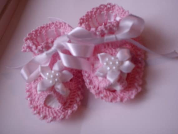 Custom, Crocheted Beaded Baby Booties Sandals for Baby Girl or Baby Boy custom orders, newborn photo prop