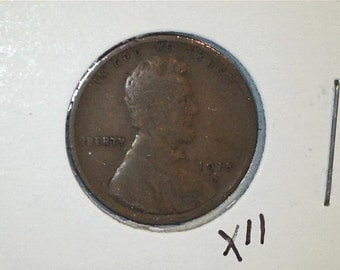 Lincoln Wheat Penny / Wheat Back Penny / Date 1915 D / X11