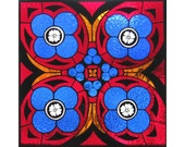 Stained Glass Panel - Gothic Style - Stained Glass Window