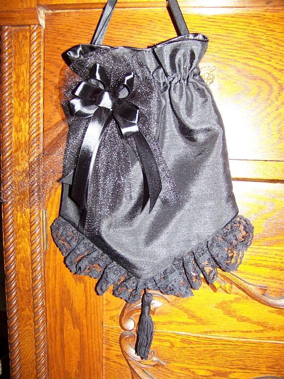 Civil War Reticule for reenactors Victorian Ladies Draw String purse
