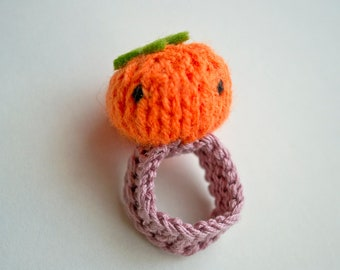 Amigurumi Magische Ring : Momshoo Knitted baby bird amigurumi ring by momshoo on Etsy