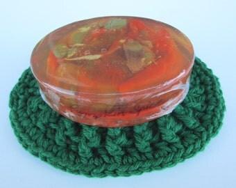 Pumpkin Marble Soap