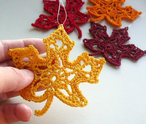 Free Maple Leaf Potholder Crochet Pattern : Varrogato: HORGOLT LEVeLMINTaK gy?jtese