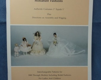Miniature Fashions Book by Beverly Dahl