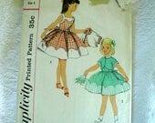 Vintage Simplicity  Pattern Size 4 2098