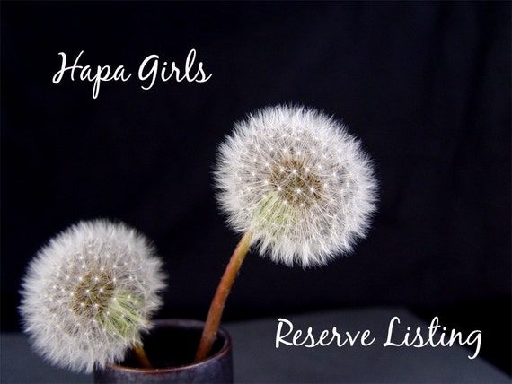 Reserve listing for Colleen