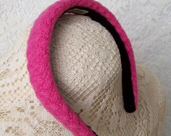Pink Winter Headband