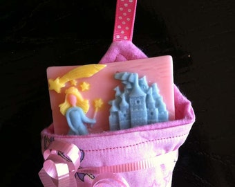 Princess Soap and Washcloth Gift Set