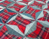 Denim Stars Quilt Pattern pdf Download