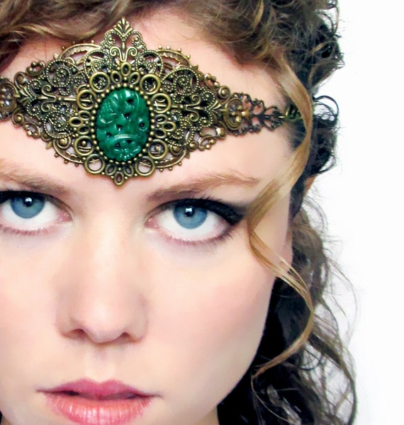 Goddess Head Piece for Halloween