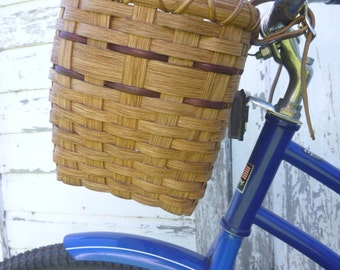 Bicycle Basket - Golden Oak