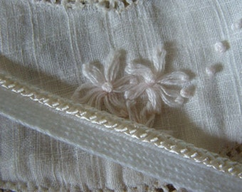 3 Yards Rich Creamy Dreamy French Lingerie